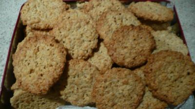 Kekse Heidesand aus Haferflocken - Rezept