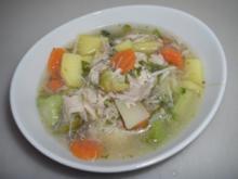 Hähnchensuppe - Rezept