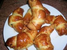Croissants mit Thunfisch und Kapern - schnell mal was Feines, Kleines - zum Wein - Rezept