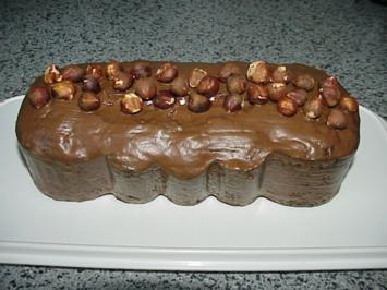 Nußkuchen mit Kirschen - Rezept
