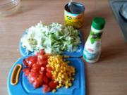 bunter Salat mit Mais - Rezept