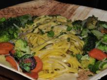Chinesische Gemüsespaghetti - Rezept