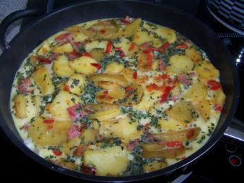 Kartoffelpfanne überbacken - Rezept