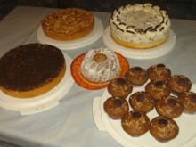 Kuchenbuffet für den 25. Geburtstag von Daniel - Rezept