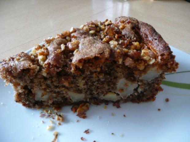 Apfel-Walnuss-Kuchen - Rezept - Bild Nr. 4