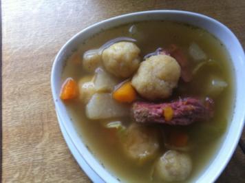 """""""Quer Beet Garten Suppe"""".. sechs Gemüsesorten-Suppe.. - Rezept"""