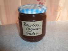 Rooibos- Ingwer- Gelee - Rezept