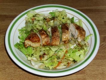 gemischter Salat mit Hähnchenbrust - Rezept