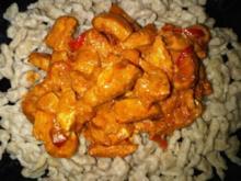 Paprika-Hühnchen - Rezept
