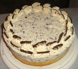 Kirsch-Schokokuss- Kuchen - Rezept