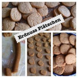 Erdnuss Kekse - Rezept
