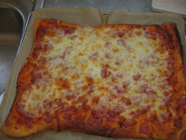 Pizzateig für ein Backblech - Rezept - Bild Nr. 3