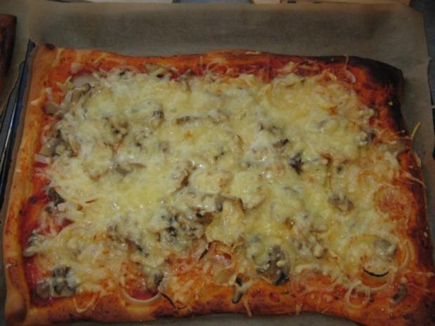 Pizzateig für ein Backblech - Rezept - Bild Nr. 4