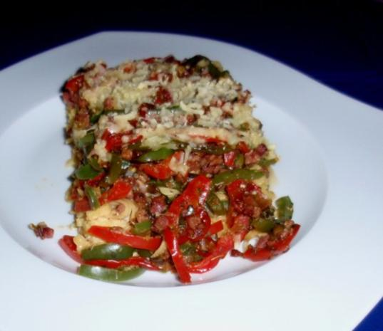 Gemüse-Tagliatelle-Auflauf - Rezept - Bild Nr. 14