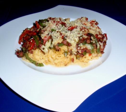 Gemüse-Tagliatelle-Auflauf - Rezept - Bild Nr. 15