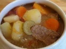 Suppe mit Spatz nach Art der Schweizer Armee - Rezept