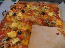 der ultimative Pizzateig - Rezept