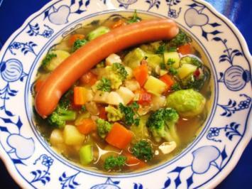 Meine 10. Gemüsesuppe ... - Rezept
