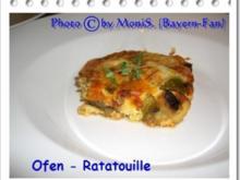 Ofen - Ratatouille mit Hack - Rezept