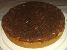 Käsekuchen mit Schoko-Kaffee-Streusel - Rezept