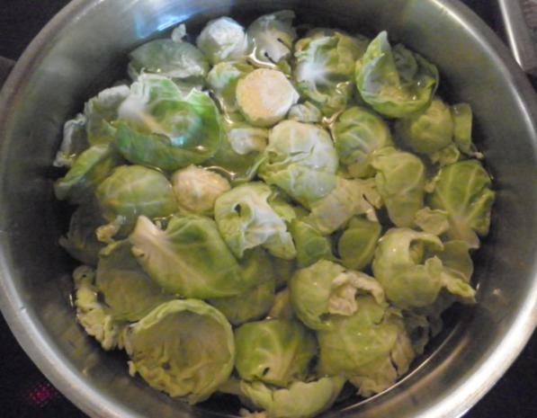 """Lauwarmer Rosenkohl - """"Salat"""" ... - Rezept - Bild Nr. 2"""