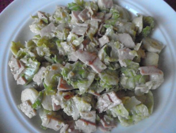 """Lauwarmer Rosenkohl - """"Salat"""" ... - Rezept - Bild Nr. 6"""