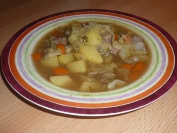 Wirsing - Rindfleisch - Suppe - Rezept