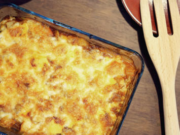 Kartoffel - Kürbisauflauf mit Fetakäse - Rezept - Bild Nr. 2