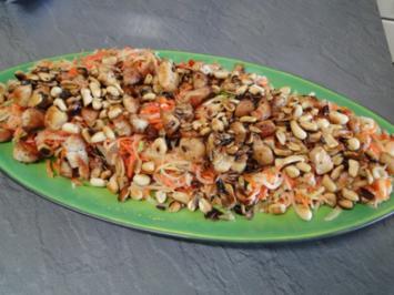 Som Tam     (Papaya-Salat) aus meinem Kochkurs der 1. Gang, weitere folgen - Rezept
