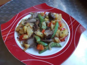 Lamm-Kartoffelpfanne - Rezept