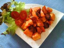 Hokkaido- Chorizo- Pfännchen - Rezept