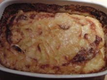 Gratin Dauphinois oder schlicht Kartoffelgratin - Rezept