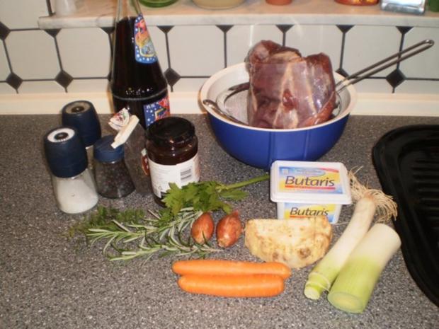 Rehkeule - butterzart bei Niedrigtemperatur - Rezept - Bild Nr. 2