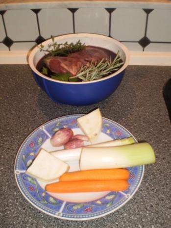 Rehkeule - butterzart bei Niedrigtemperatur - Rezept - Bild Nr. 3