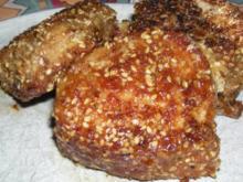 Filet vom Schweinchen im Sesammantel - Rezept