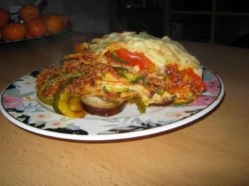 Lasagne Zweierlei - Rezept