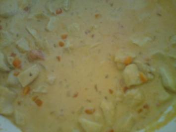 Hähnchen-Geschnetzeltes in Rahmsoße - Rezept