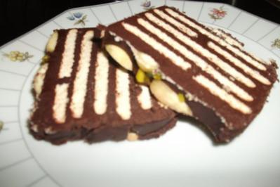 Kalter Kekskuchen - Rezept