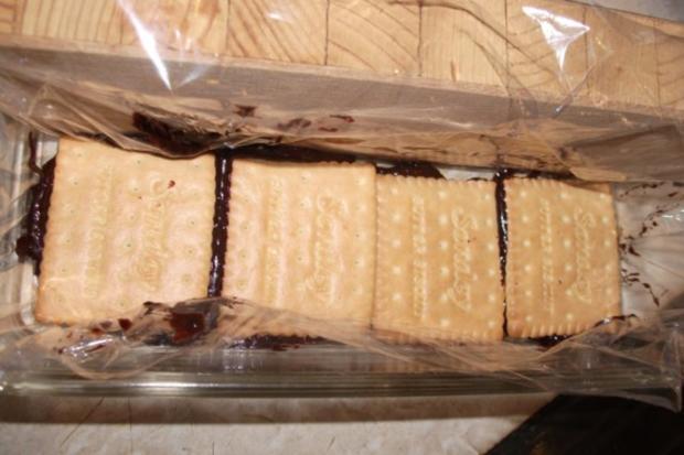 Kalter Kekskuchen - Rezept - Bild Nr. 4