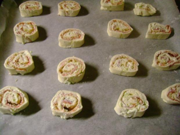 Snack: Pikanter Blätterteig  Mix - Rezept - Bild Nr. 4
