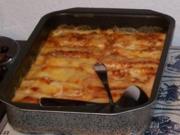Cannelloni mit Ricotta-Spinat-Füllung - Rezept
