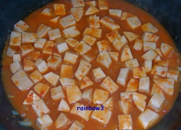 Kochen: Wurst in cremiger Sauce - Rezept - Bild Nr. 3