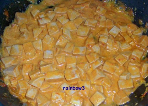 Kochen: Wurst in cremiger Sauce - Rezept - Bild Nr. 4