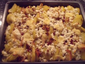 Kartoffel-Apfel-Auflauf - Rezept