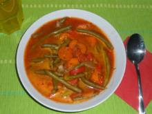 Mediterrane Bohnensuppe - Rezept