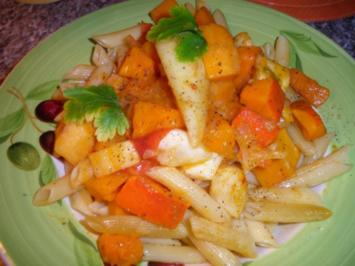 Gemüse - Pasta - Rezept