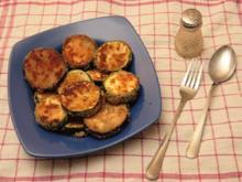 Paniertes Gemüse - Auberginen und Zucchini - Rezept