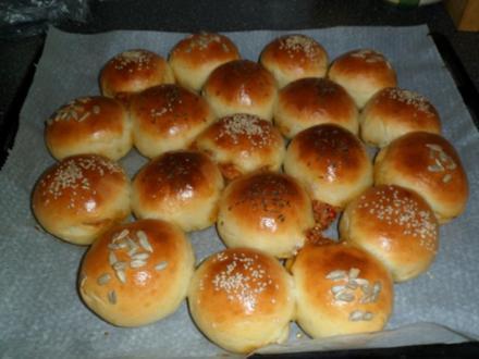 Gefülltes Party Brot (der KRACHER !) - Rezept