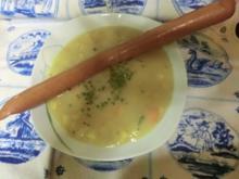 Cremige Kartoffel-Suppe mit Jungfrauentraum - Rezept