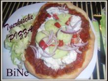 BiNe` S TUERKISCHE PIZZA - Rezept